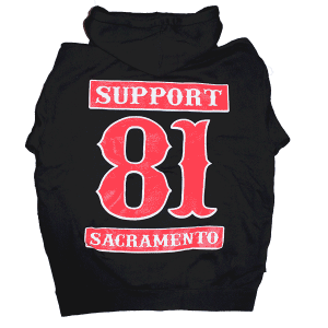 support hoody back, support 81 sacramento