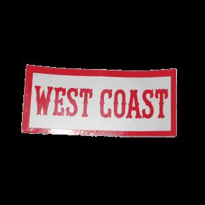 west coast sticker